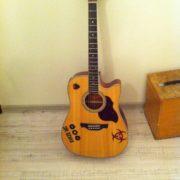 Noize mc гитара наклейка