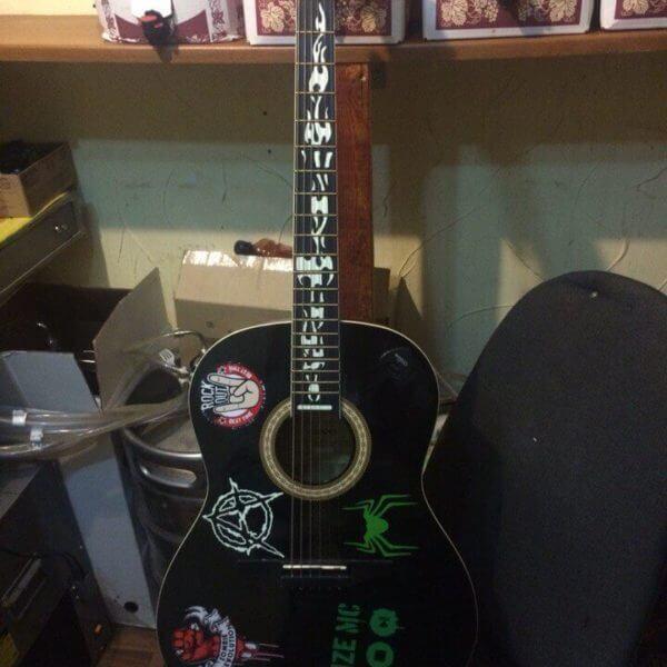 Логотип noize mc на гитару купить