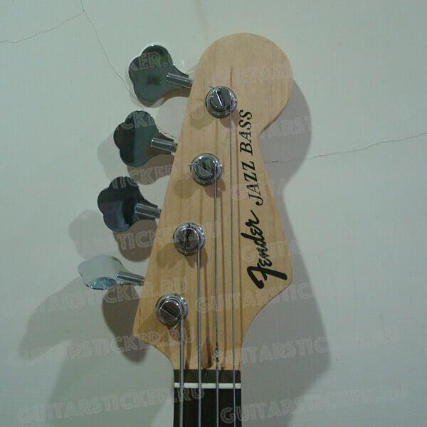 Купить наклейки на бас-гитару фендер джаз бас