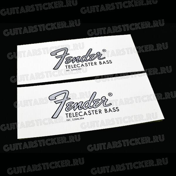 Декаль на гитару fender-telecaster-bass-1968-1972