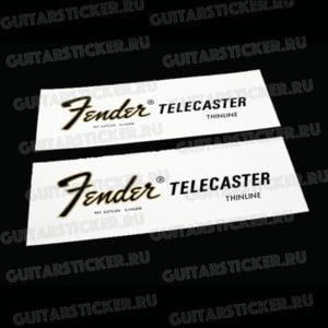 Декаль fender-telecaster-thinline-1968-1975 купить для телекастера