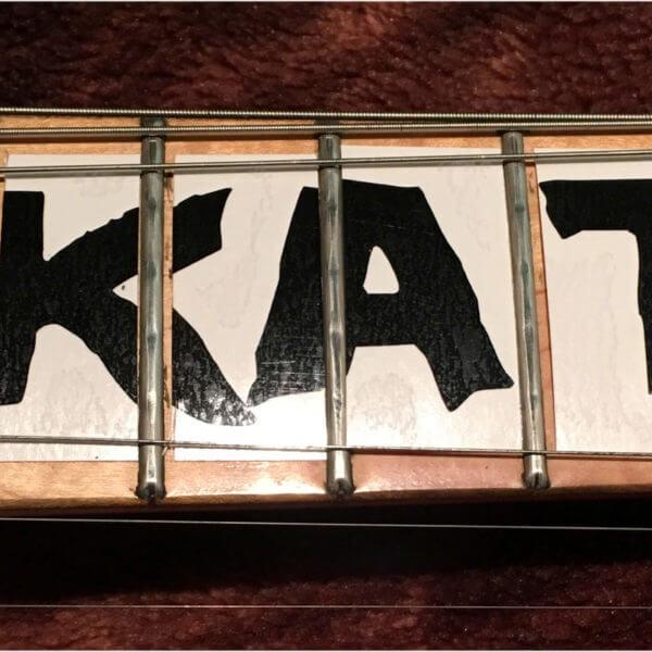 Купить наклейки надпись скейт панк на гриф гитары