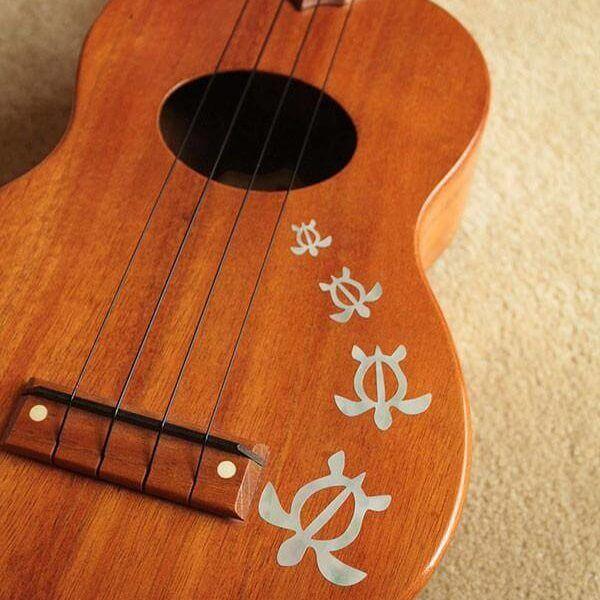Отзывы о наклейках черепашки на деку гитары