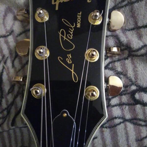 Виниловые наклейки Gibson Les Paul Model для гитары