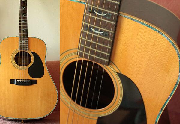 Комплект окантовка для гитары
