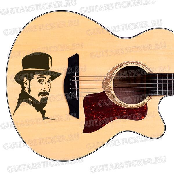 Купить виниловую наклейку портрет Сержа Танкяна