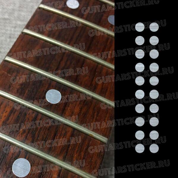 На акустическую гитару точки на гриф
