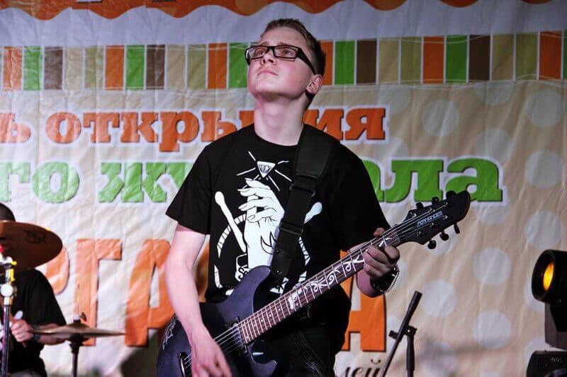 Наклейки на гриф гитары