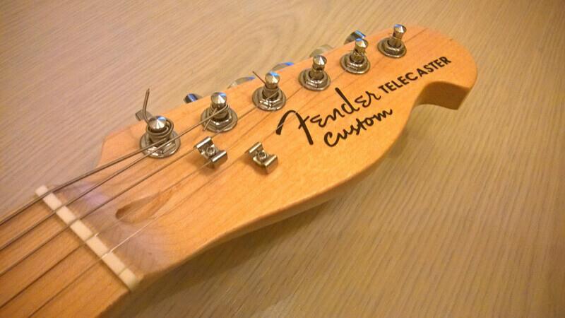 Наклейки Fender '72 Telecaster