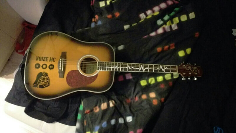 Купить наклейки для гитары. Отзывы