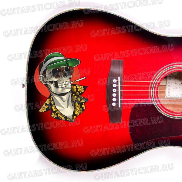 Купить наклейки в виде тату для гитары