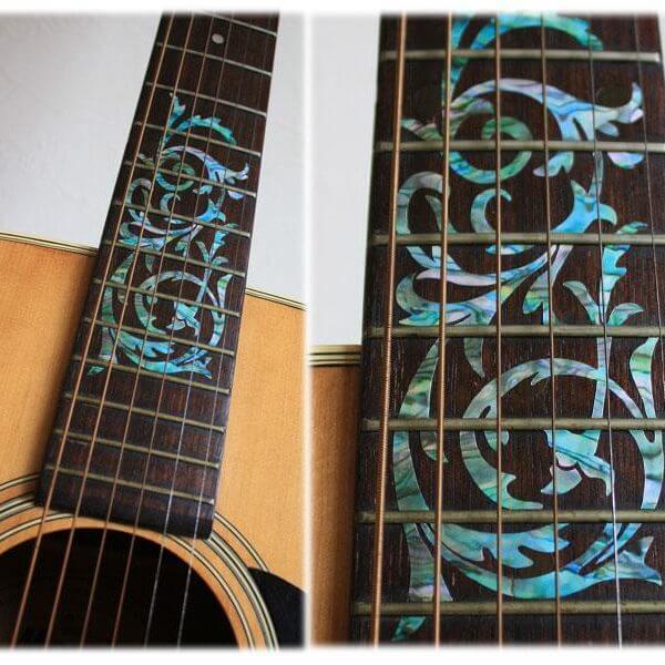 Красивые орнаменты для грифа акустической гитары купить в России