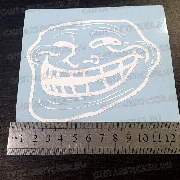 Купить наклейку тролл фэйс Troll Face