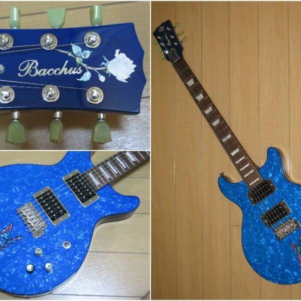 Купить виниловую наклейку бабочка инкрустация для гитары