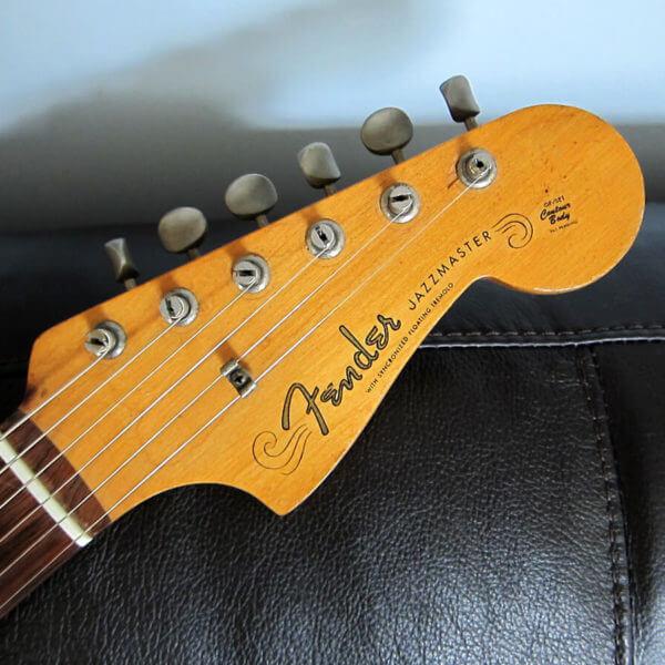 НАклейки на головку грифа гитары fender-jazzmaster-1958-1962
