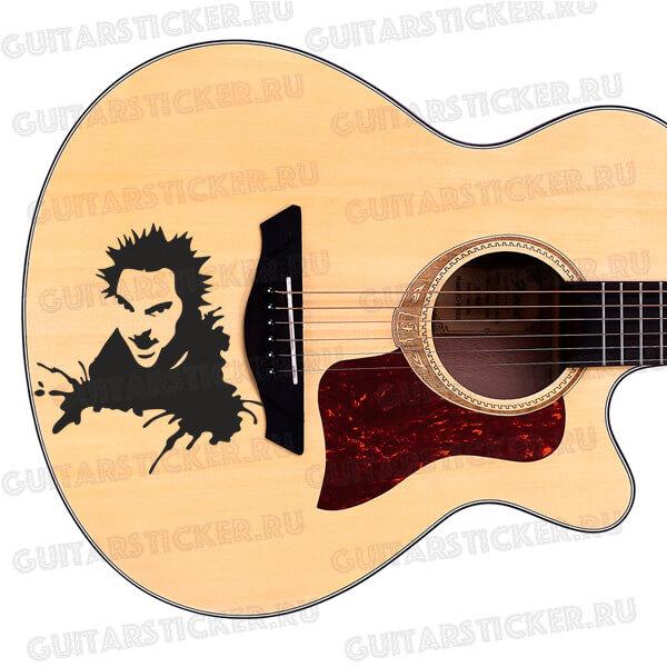 Купить наклейки с горшком на гитару и на машину