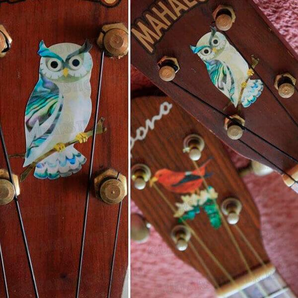 Купить красивые наклейки для укулеле