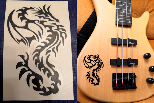 Заказать дракона на гитару