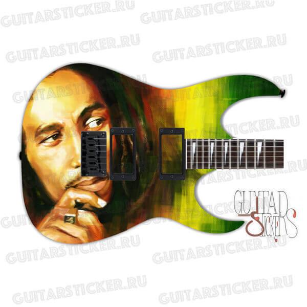 Купить гитарный скин боб марли