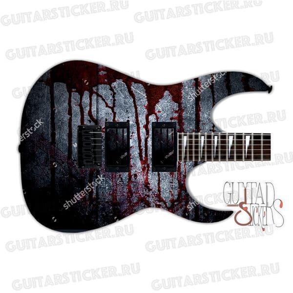 Обтянуть гитару винилом
