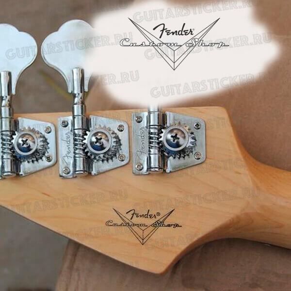 Купить декали на гриф гитары Fender custom shop