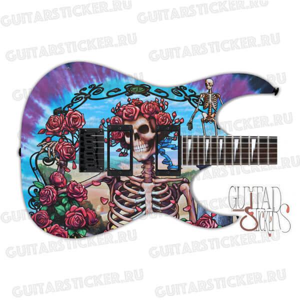 Скин для гитары Grateful Dead