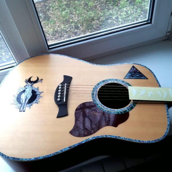Купить виниловые стикеры для гитары