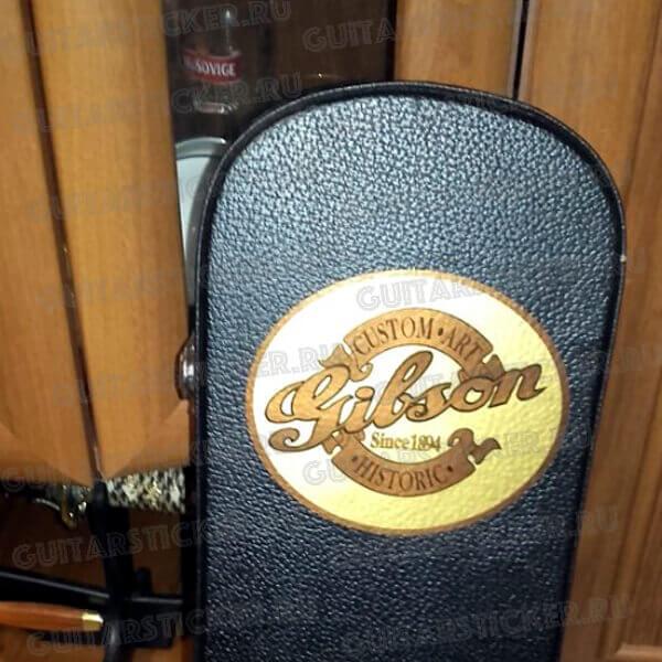 Gibson на кейс наклейка виниловая