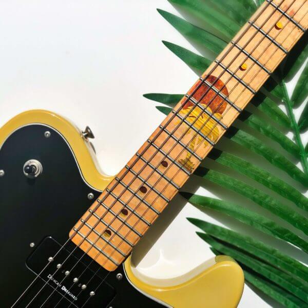 Купить комплект наклеек гавайский закат на гриф электрогитары