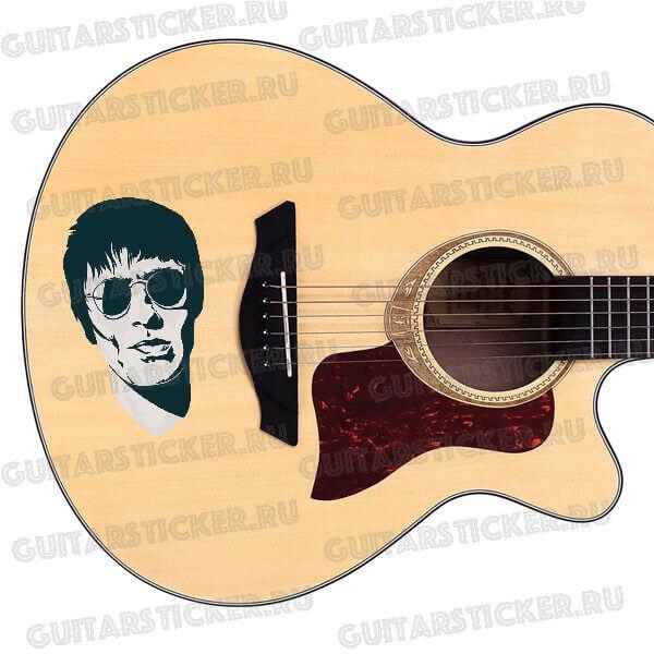 Купить наклейку Портрет Лиама Галлахера (Liam Gallagher)